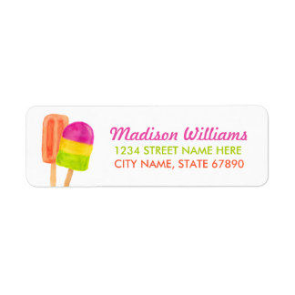 Sweet Celebration Return Address Label / White