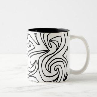 Sweet Charming Sweet Happy Two-Tone Coffee Mug