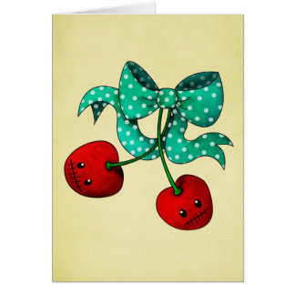 Sweet Cherries Card