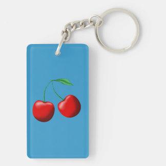 Sweet Cherries Keychain