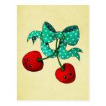 Sweet Cherries Postcard