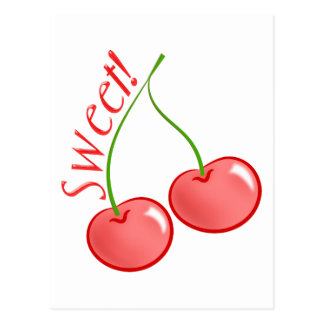 Sweet Cherries Postcard