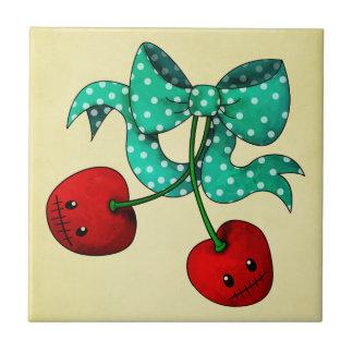 Sweet Cherries Tile