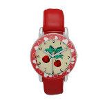 Sweet Cherries Wrist Watch