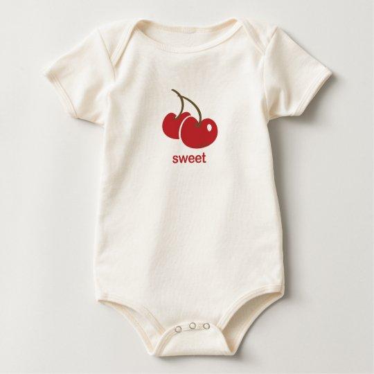 sweet cherry baby bodysuit