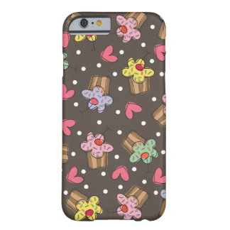 Sweet Cherry Cupcakes Confectionery Bakery Cute Barely There iPhone 6 Case