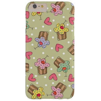 Sweet Cherry Cupcakes Confectionery Bakery Cute Barely There iPhone 6 Plus Case