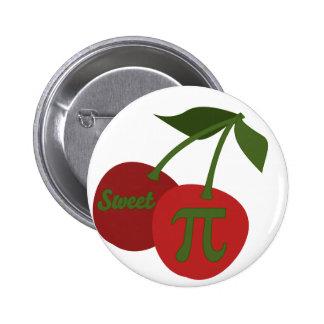 Sweet Cherry Pi 2 Inch Round Button