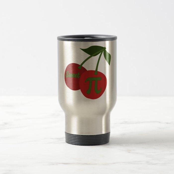 Sweet Cherry Pi Travel Mug