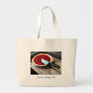 Sweet Cherry Pie Tote Bag