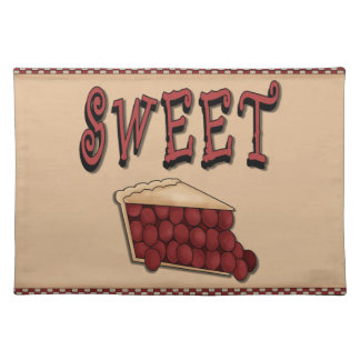 Sweet Cherry Pie Placemat