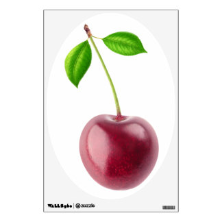 Sweet cherry wall decal