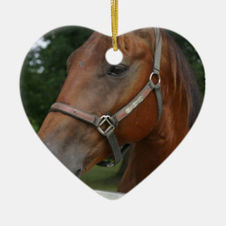 Sweet Chestnut Horse Ornament