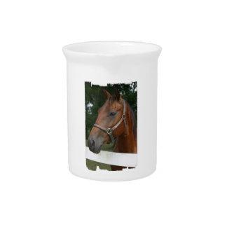 Sweet Chestnut Horse Pitcher