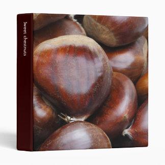 Sweet chestnuts vinyl binder