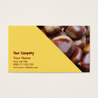 Sweet chestnuts business card