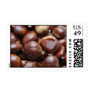 Sweet chestnuts stamp