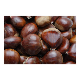 Sweet chestnuts poster