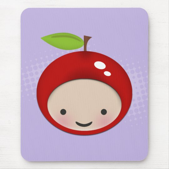 Sweet Chibi Cherry Mousepad