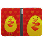 Sweet chick in love case for the kindle