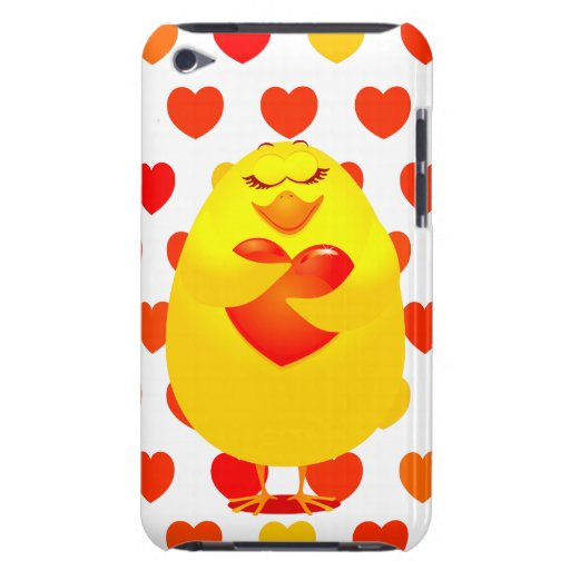 Sweet chick in love, iPod case iPod Touch Cases
