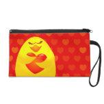 Sweet chick in love wristlet purse