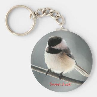 Sweet chick keychain