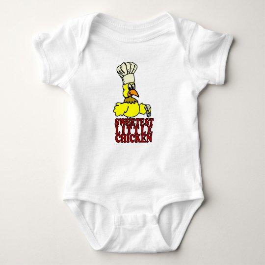 Sweet Chicken BBQ Baby Baby Bodysuit