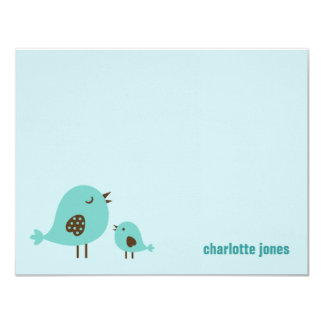 Sweet Chicks Thank You Cards - Blue