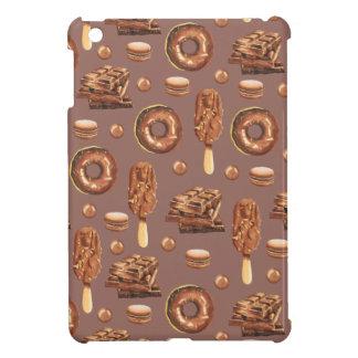 Sweet Chocolate Treats Pattern iPad Mini Covers