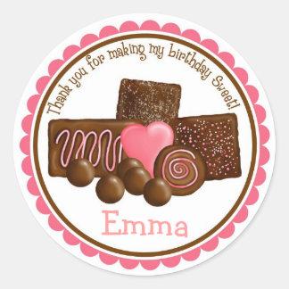 Sweet Chocolates Stickers