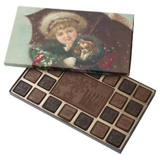 Sweet Christmas Chocolate Assortment 45 Piece Box Of Chocolates