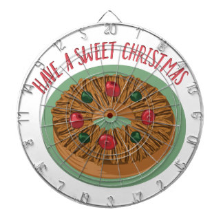 Sweet Christmas Dart Board