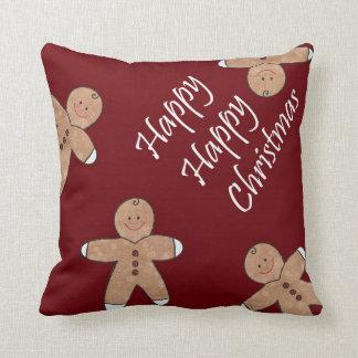 Sweet Christmas Gingerbread Cookies Pillow