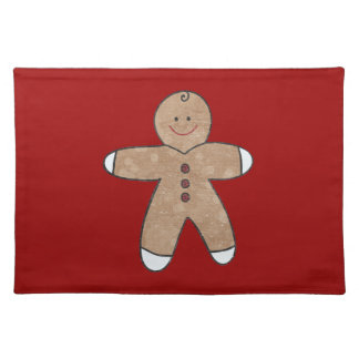 Sweet Christmas Gingerbread Cookies Placemat