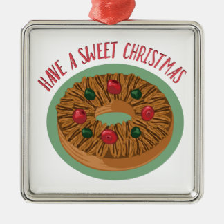 Sweet Christmas Metal Ornament