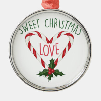 Sweet Christmas Metal Ornament