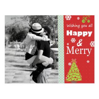 Sweet Christmas Photo Postcard