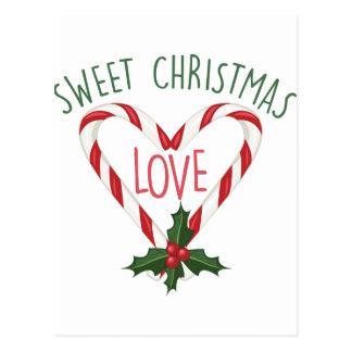 Sweet Christmas Postcard