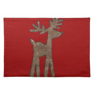 Sweet Christmas Reindeer Placemat