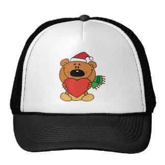 Sweet Christmas Teddy Bear Trucker Hat