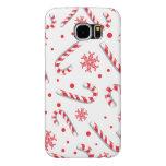 Sweet Christmassy Candy Bar Pattern Samsung Galaxy S6 Case