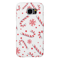 Sweet Christmassy Candy Bar Pattern Samsung Galaxy S6 Case