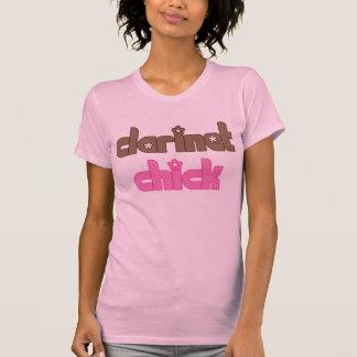 Sweet Clarinet Chick Tee Shirt