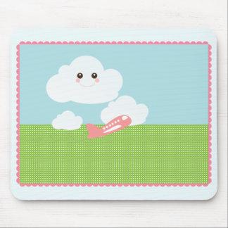 Sweet Cloud/Plane Mousepad
