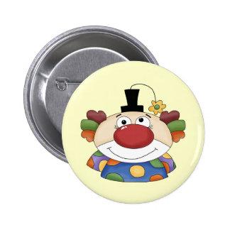 Sweet Clown Face Pinback Buttons