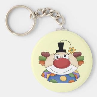 Sweet Clown Face Key Chain