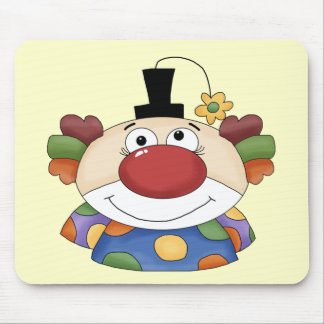 Sweet Clown Face Mouse Pad