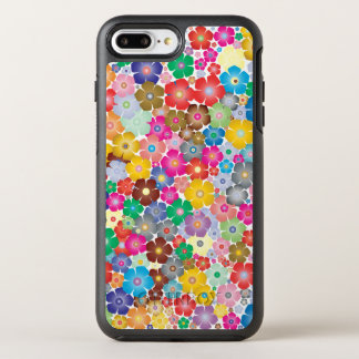 Sweet Colorful Flower Design Phone Case