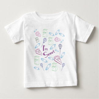 Sweet & Colorful Infant Baby T-Shirt